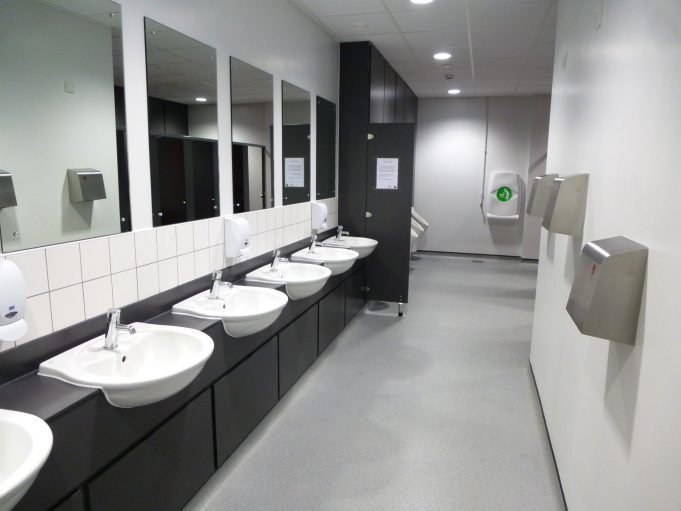 Excellent facilities - The Hub Mens' Toilets | Malcolm Brown