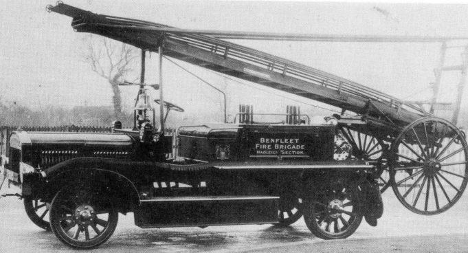 Hadleigh's first fire engine | Essex Fire Museum, Grays