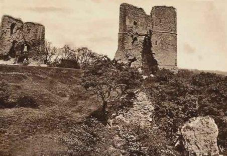Hadleigh Castle ~ Grade I Listing