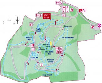 Map of the course | Copyright London 2012