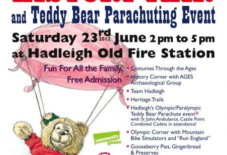 Hadleigh History Fair at HOFS 23rd June 2012