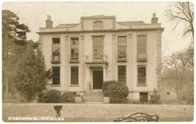 Hadleigh Great House, later Victoria House | Bob Nichols Collection