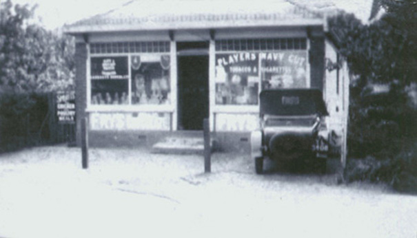 In Kiln Road, near today's Total petrol station opposite Glenmere Road stood Daisy Bungalow, known as Daisy Stores Grocers. Proprietor was Mrs Dorcas Gullett. | Philip Packham