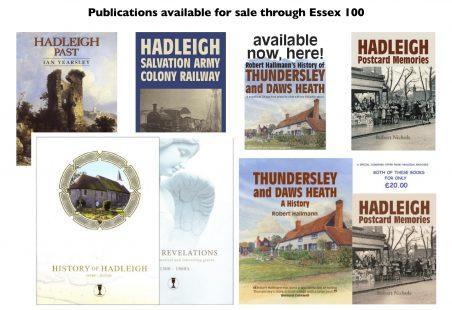 Books for sale via Essex 100