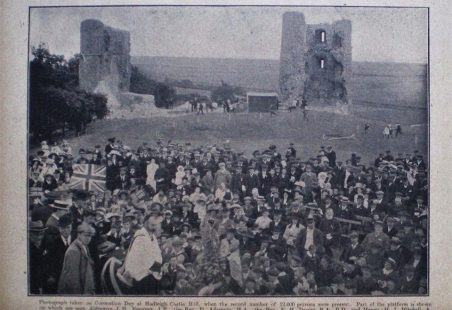 Hadleigh Castle - from 1891 to now