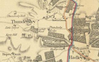 Report on Thundersley: Southend Standard 1902