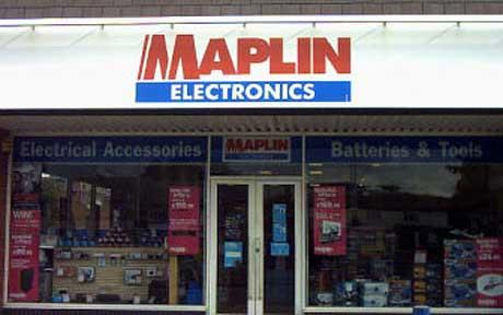 Historic Maplin sign