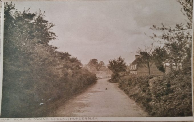 Photo showing Hart Road and Swans Green, unsure of year taken..