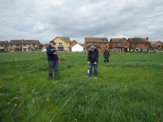 AGES AHA Geophysics in Salvation Army Field
