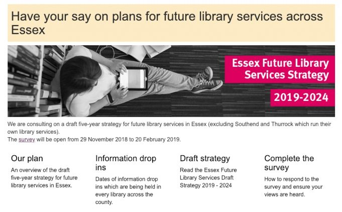 Worried about your library closing?   ECC