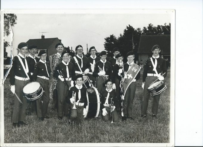 2nd Thundersley Scout Band Belchamps 1969