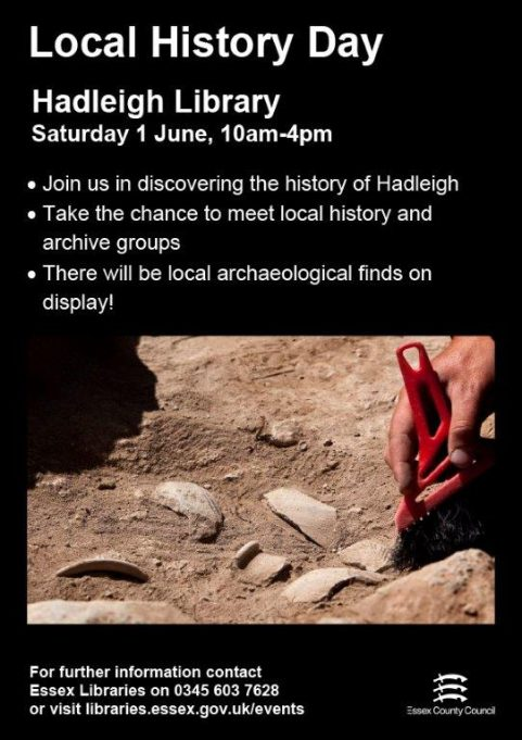 June 2019 Local History Day,  Hadleigh Library