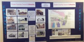 Community Archive Board at Hadleigh Library  August 2019 | H&TCA