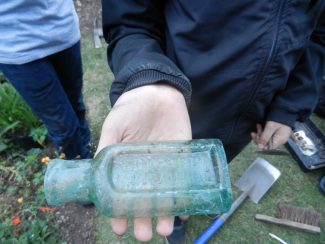Manwaring London (Possibly Sauce) Bottle Found in Elm Road Hadleigh