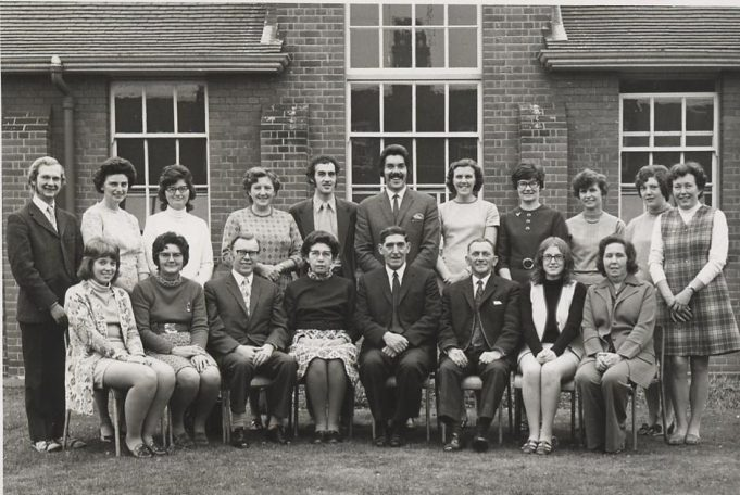 Hadleigh Junior School staff, Summer 1972. | Nigel Seaman