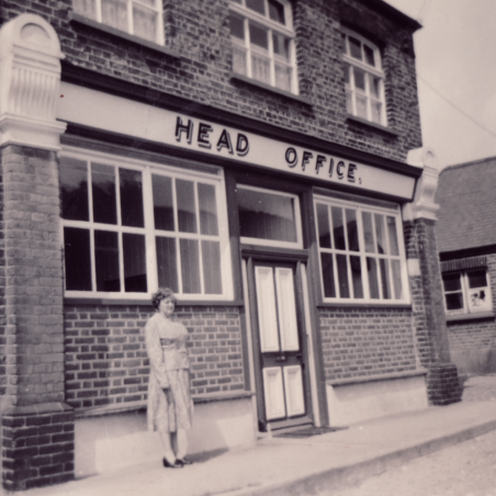 The Head Office on the Salvation Army Colony, 1950. Emma Slater was the cashier as mentioned in article.