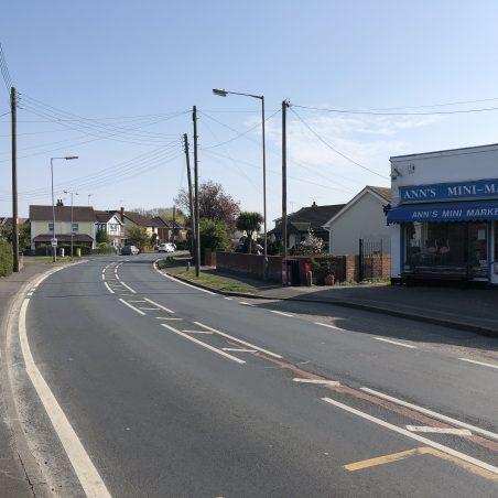 Looking towards Clark's Corner, Ann's Mini Market on the right. | Graham Cook