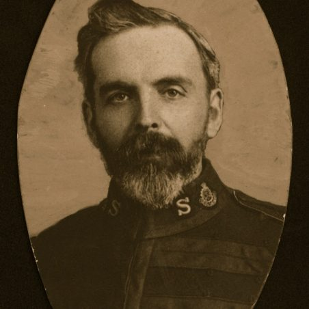 A young Colonel David Lamb about the time he was at the Hadleigh Colony. | Salvation Army archives.