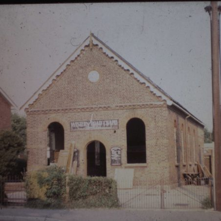 Chapel in Western Road, next to Victory Villa, no longer there. | Bob Delderfield collection.