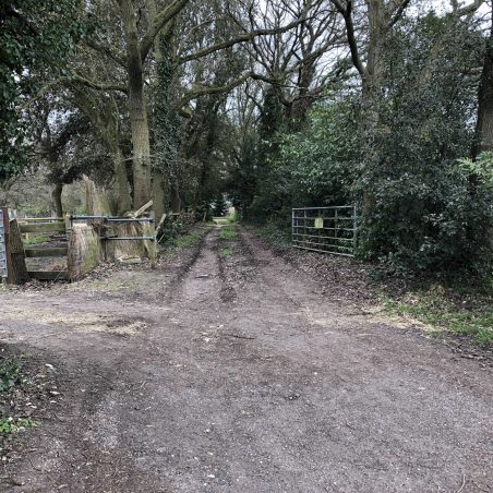 Possibly the entrance to the Bramble Hall. | Graham Cook