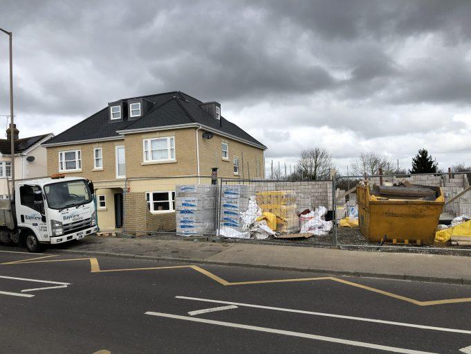 A new development opposite Deans School entrance. | Graham Cook