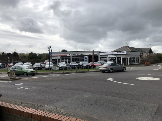 Essex Car Sales at the Woodmans roundabout. | Graham Cook