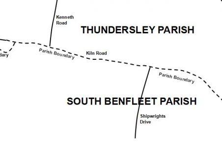 """Thundersley"" in Benfleet Parish"