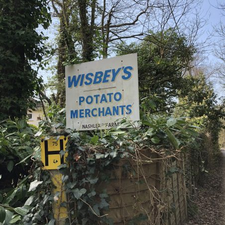 Wisbey's entrance. | Graham Cook.