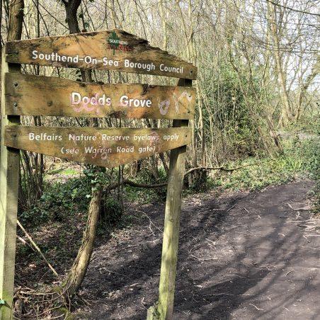 Dodds Grove signage. | Graham Cook
