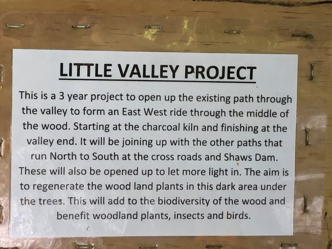 Little Valley Project; the sign tells all you need to know | Graham Cook