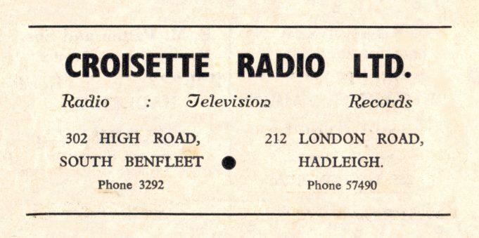 1960 Advert