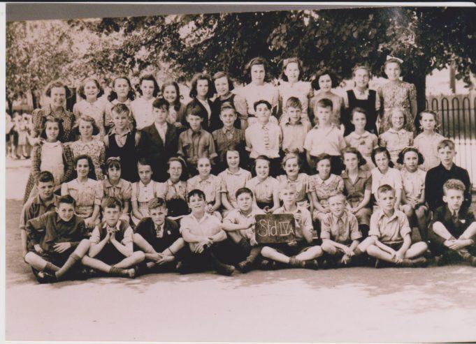 Hadleigh Junior School, early 1940s?