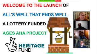 AGES AHA Project Launch on Zoom