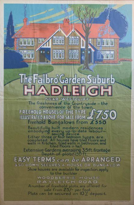 Arcadian Gardens - Original Sale Poster