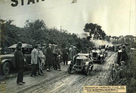 Thundersley Hill Climbs in the 1920s