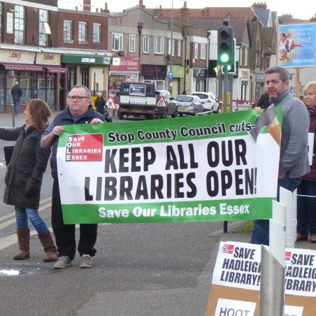 An unfair ECC strategy to close smaller libraries
