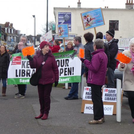 Residents were not mollified by the Essex Library Management's roadshow which failed to answer many questions