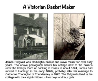 Sustainable crafts:  Basket making in Hadleigh | Chris Worpole