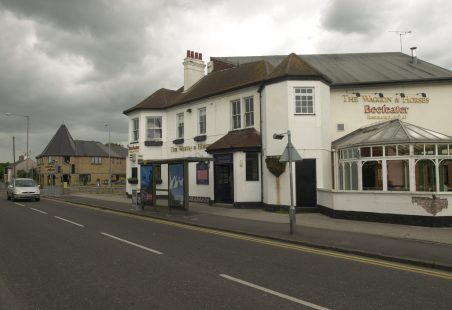 When the Waggon and Horses Pub stood in Hadleigh