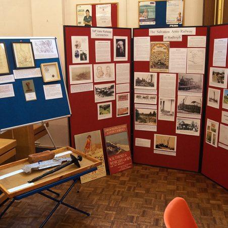 Display about brickfields in Essex