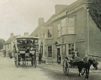 The Castle Inn, first known as The Blue Boar